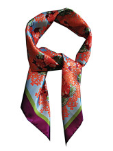 LISAN_LY  Floral scarf