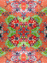 LISAN_LY Kaleidoscope close up