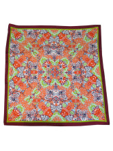 LISAN_LY floral kaleidoscope long
